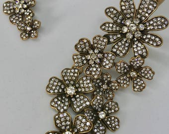 Oscar de la Renta vintage necklace. Free postage.