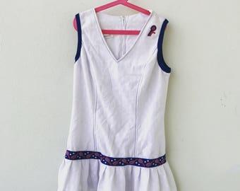 Vintage tennis dress