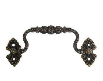 Door handle for chest, box bronze antique 900.