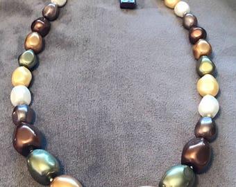 Masami baroque pearl necklace