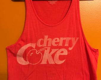 Vintage Cherry Come Muscle Tee