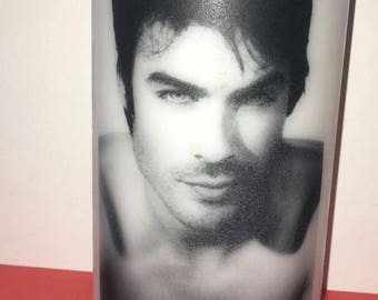 Damon vampire diaries candle