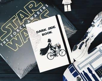 Notebook Darth Vader, Dot grid notebook, Star wars notebook, Star wars special edition notebook, Dotted notebook, Star wars gifts