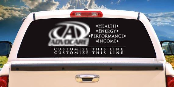 Advocare Business Logo Car Vinyl Decal - Advocare car decal stickers