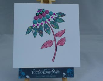 Female floral card * Floral blank card * Floral card * Mum * Daughter * Sister * Granddaughter * Auntie * Niece * Friend
