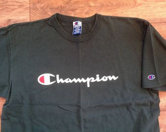 Vintage 90s CHAMPION spell-out logo t-shirt