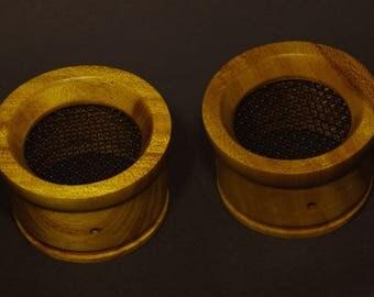 Handmade Wooden Grado Cups - Acajou Mahogany #04
