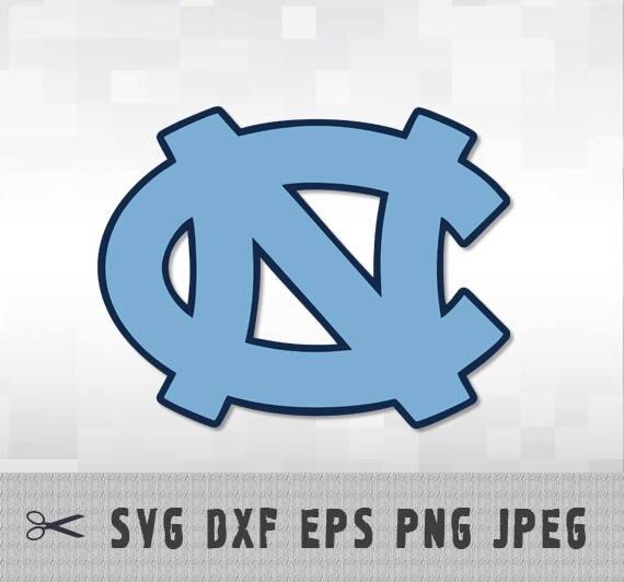 University North Carolina Tar Heels Svg Dxf Logo Vector Cut