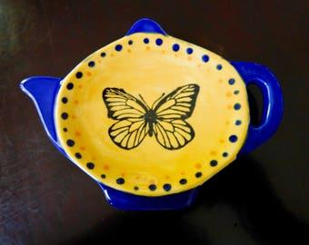 Teapot Shaped Dish