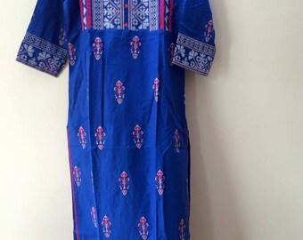 Indian Bollywood Kurti Kurta Tunic Embroidery top- 3 XL
