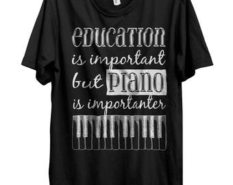 Piano Shirt, Piano T Shirt, Band T-Shirts, Band Tee, Band Shirts, Music Teacher Gift, Piano Teacher Gift, Music Tshirt, Music Shirt