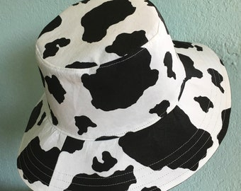 Special Order Adult Cow Spot Print Sun Hat!