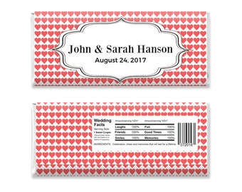 custom candy bar wrapper labels for hershey bar personalized. Black Bedroom Furniture Sets. Home Design Ideas