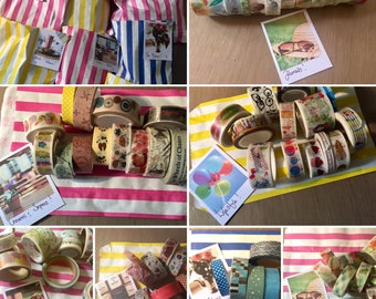 Washi Grab Bags | Washi Tape