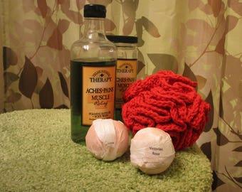 Hand-crocheted Loofah