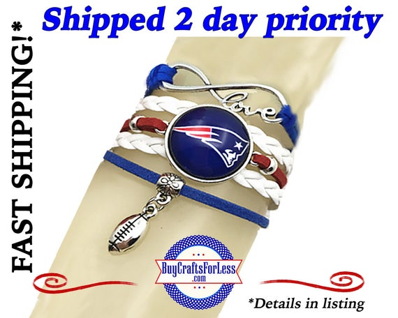 SHiPS 2-DaY PRiORITY -NEW England Bracelet - NeW Design! CHooSE Charm - Super CUTE!*SHiPPING INCLuDED!*