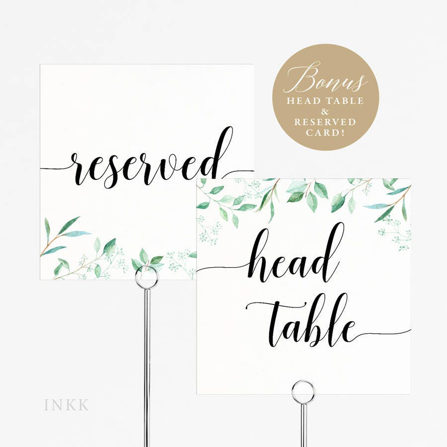 Wedding Table Numbers Template Choice Image - Templates Design Ideas