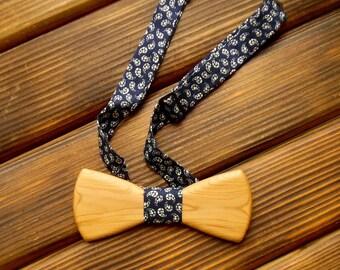 Wood bow tie Wedding Bow Tie Wood anniversary gift Brother gift Boyfriend gift Groomsmen Father of the bride gift Wooden bowtie Bowtie men