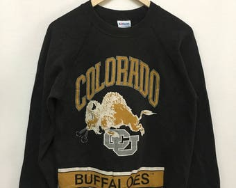 Vintage Colorado Buffaloes CU Made in Usa Sweatshirts Sweater Jumper Pullover