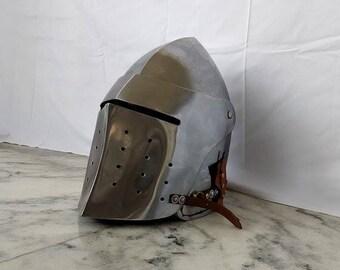 Medieval Italian Bascinet armour SCA Armor fighting larp armor