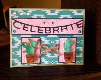 Cacti Birthday Celebration