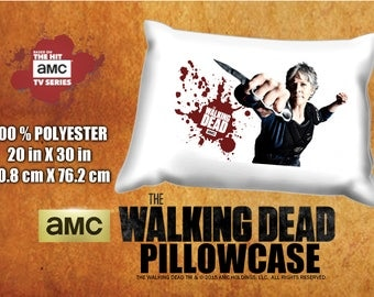 The Walking Dead Carol Melissa McBride  Pillowcase