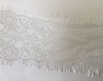 Ribbon lace tulle 11 cm in width