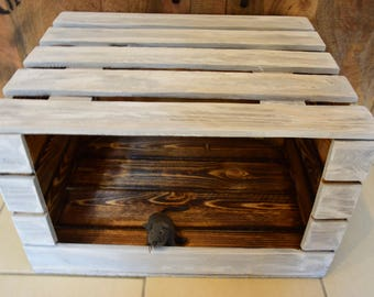 Cat bed, Cat's den, cat box, cat furniture, cat basket, cat basket, chest, cat, sleeping place for cats, occasional table, stool, table