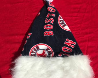 Boston Red sox, MLB santa hat, personalize