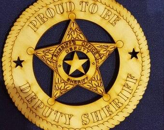 Proud Deputy Sheriff
