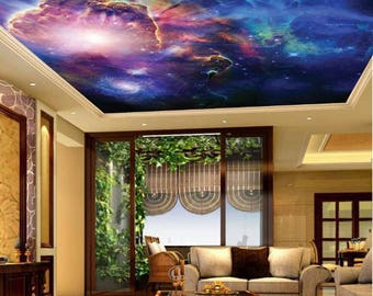 Galaxy wallpaper ceiling, ceiling stars, ceiling nebula wallpaper, star wallpaper, ceiling star wallpaper, ceiling, universe ceiling,