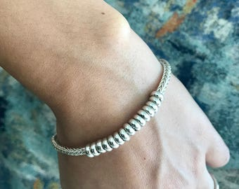 Peruvian 950 silver bracelet