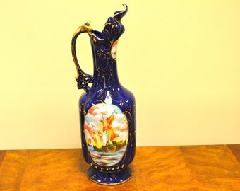 Ceramic Pitcher With Boat Design-High Quality