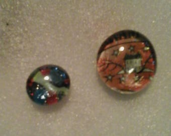 Set of 6 Cabochon Magnets