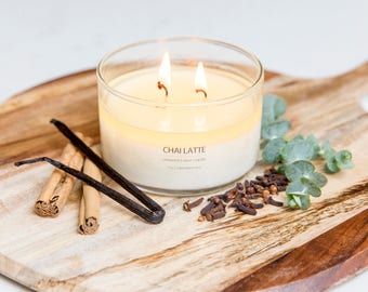 Chai Latte Soy Candle