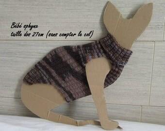 Sphynx cat sweater