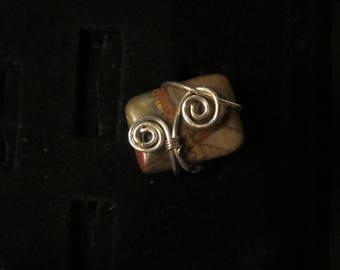 Picasso Jasper Ring
