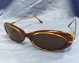 1950's Mod Andre Courreges Cat Eye Sunglasses