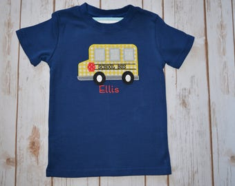 School Bus Applique- Portion of sales donated to Cure SMA