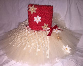Moana Tutu Dress, Hawaii Tutu