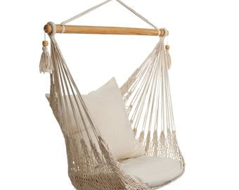 Hanging Chair XL Rugged quality incl. 2 cushion covers!