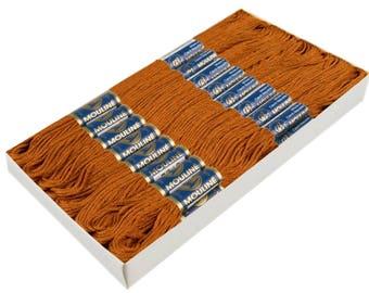 24 Docking Embroidery/Stick twist #7772 Bombay Brown