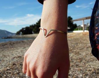 Minimalist bracelet, Viking bracelet, handmade, bronze bracelet, minimalist, brass bracelets, metal Pulcera