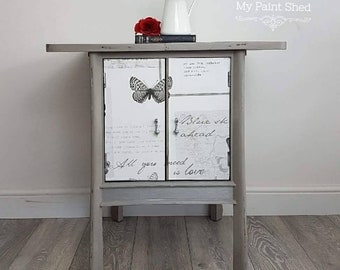 Table, cupboard, cabinet, end table, side table, lamp table