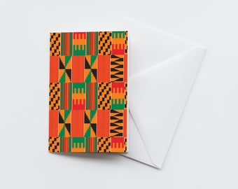 Greetings Card - Kweku