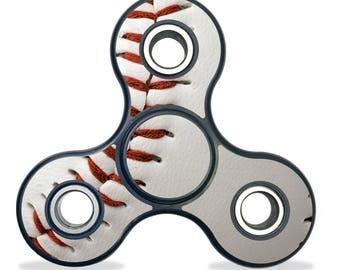 Baseball - Fidget Spinner, Tri-Spinner, Fidget Spinner Decal, Fidget Spinner Sticker, Custom Fidget Spinner, Bat Shaped Spinner, Batman
