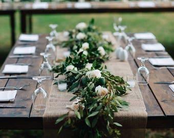 30% OFF /Hessian Roll / Burlap Roll / Wedding Table Runner / Rustic / Farm Wedding / Hessian / Table Runner / Burlap Table Runner / Burlap