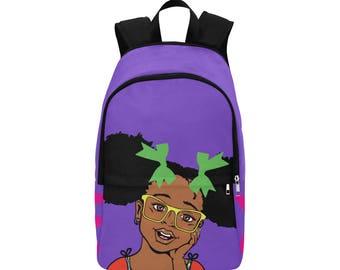 Summer Purple Backpack