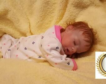 """Reborn Baby Megan,  Preemie 16"""", Custom Order"""