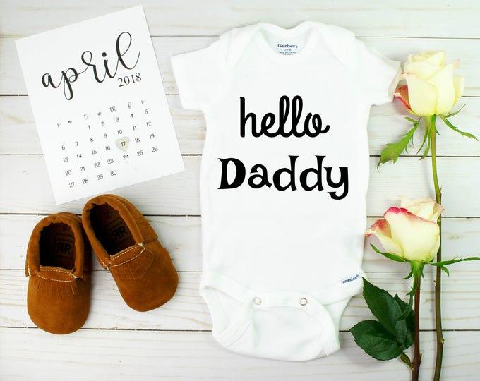 Pregnancy announcement idea to daddy